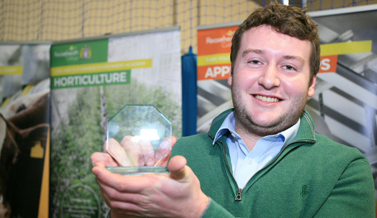 Best Level 2 Agricultural Apprentice, Andrew Hill