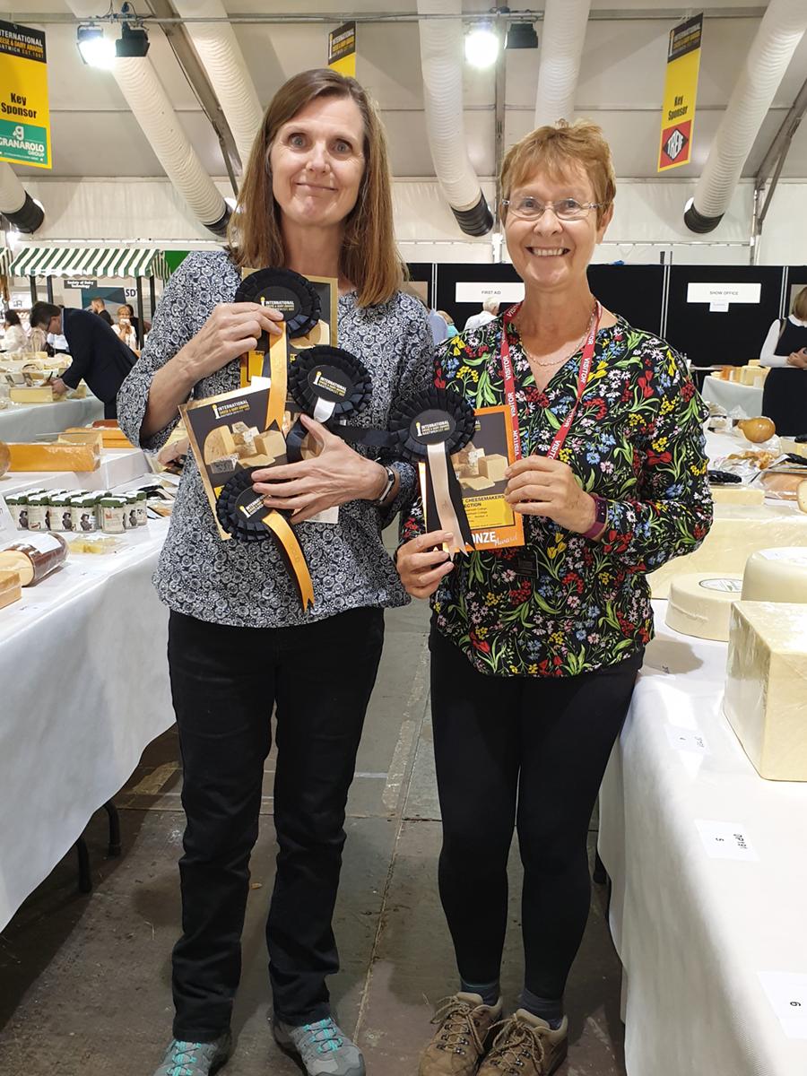 Debbie Heritage-Brill and Sue Moors