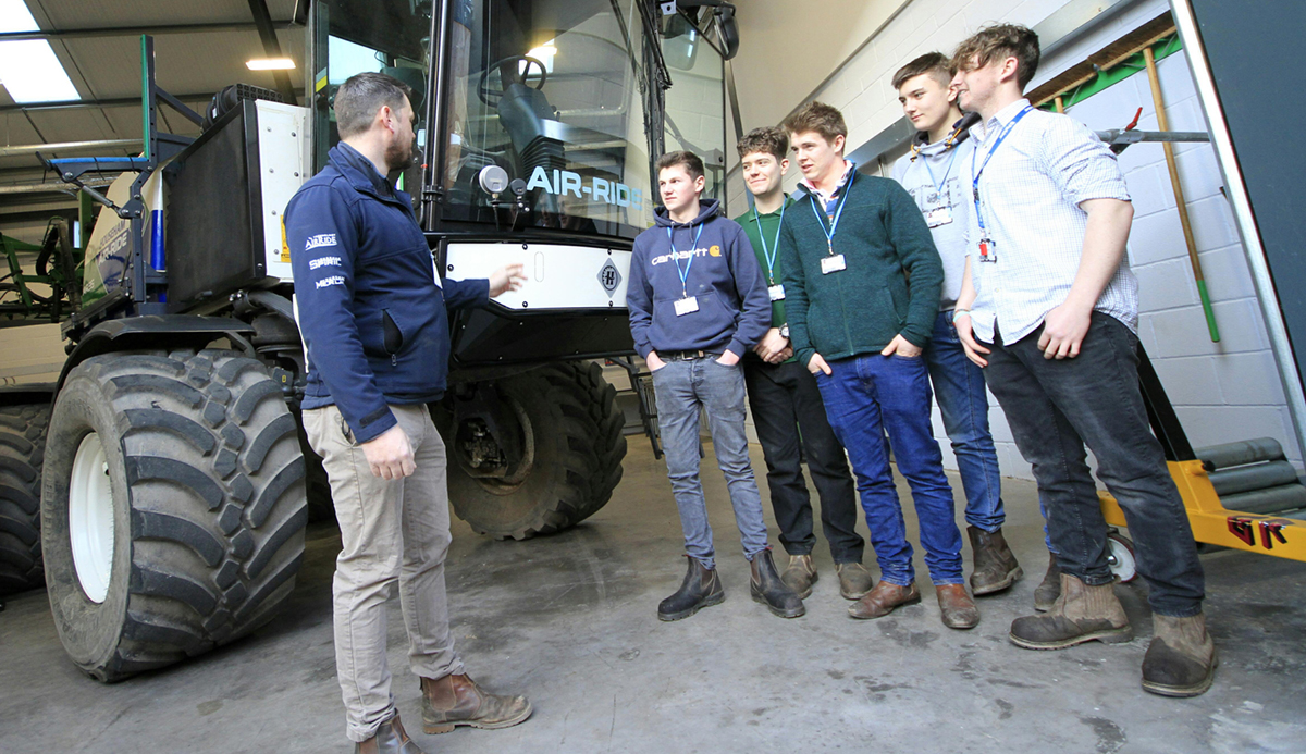 Househam Sprayers, Nick Snowden, Sales Area Manager, L3 Dips Robert Clark, William Bridgeman, Matthew Henshaw, Freddie Ward, and Patrick Rogers