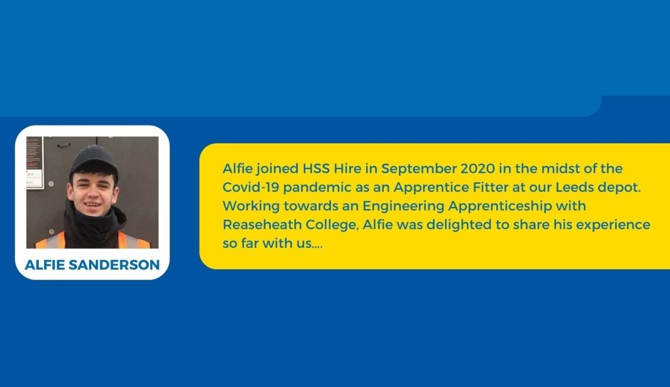 Hear from Alfie Sanderson an Engineering Apprentice