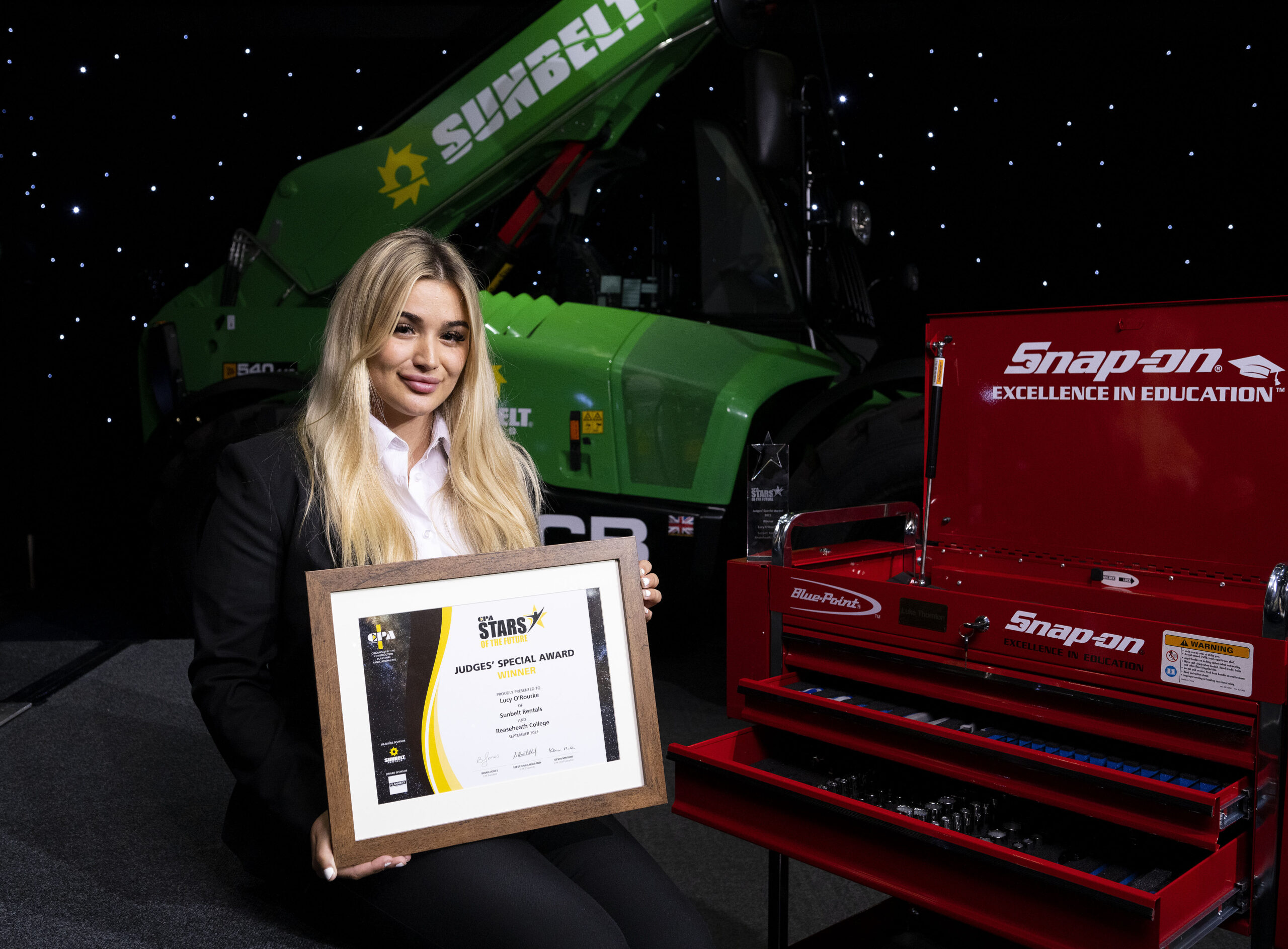 Reaseheath 'stars' win top accolades in construction plant awards